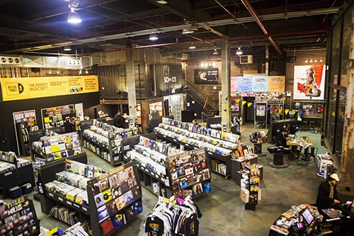 rough trade nyc interior williamsburg brooklyn new york city ny