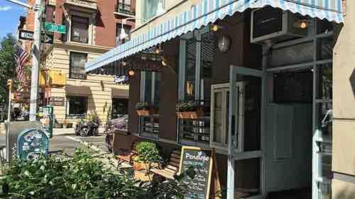 penelope cafe exterior lexington manhattan new york city
