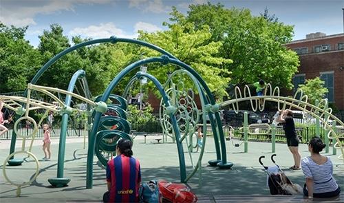 J.J. Byrne Playground Park Slope Brooklyn New York City NY