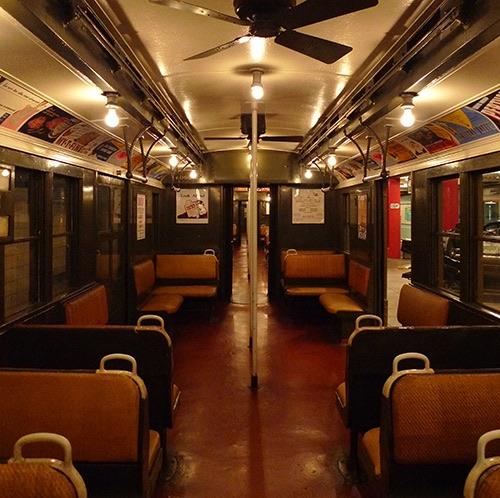 (photo Mark Hogan) New York City Transit Museum Brooklyn New York City NY