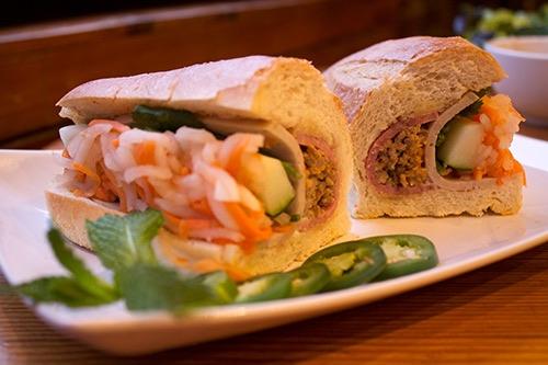 (photo hanco's) banh-mi sandwich brooklyn new york city ny
