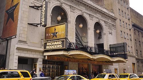 hamilton theater district midtown manhattan new york city ny