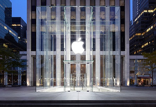 apple store fifth avenue cube central park south midtown manhattan new york city ny