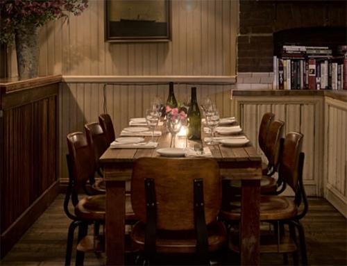table at cherry point greenpoint brooklyn new york city ny