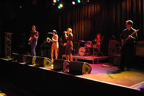 (photo Emily Tan) performance at music hall of williamsburg brooklyn new york city ny