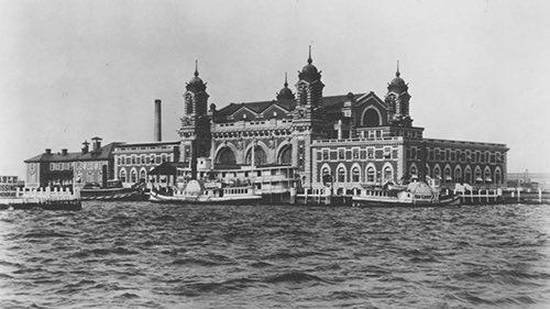Copy of historical ellis island new york city ny