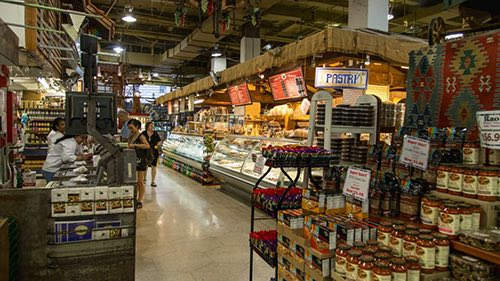 zeytuna market counter lower manhattan financial district new york city ny