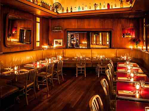 booths at employees only manhattan new york city ny
