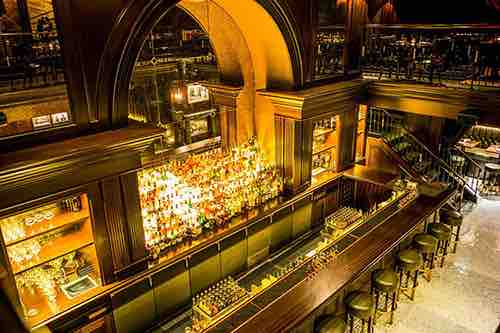 bar at the nomad hotel flatiron manhattan new york city ny
