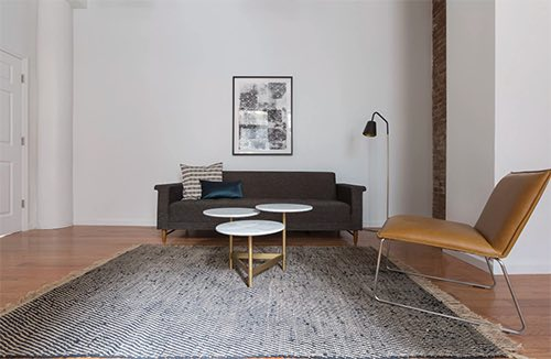 Copy of couch at breather private space rental flatiron manhattan new york city ny