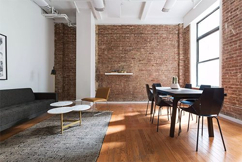 interior at breather private space rental flatiron manhattan new york city ny