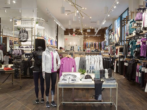 inside lululemon flatiron flagship manhattan new york city ny