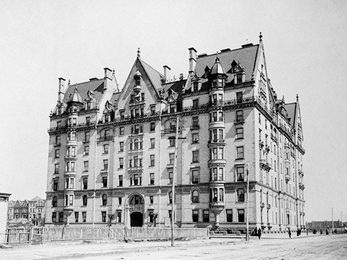 Copy of original photo of the dakota 1890 dakota exterior upper west side manhattan new york city ny