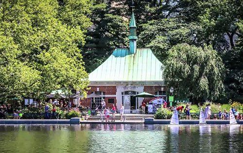 Copy of central park model boat pond new york city ny