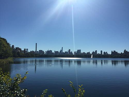 Copy of glimmering central park reservoir manhattan new york city ny