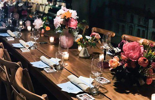 table at sfoglia upper east side manhattan new york city ny