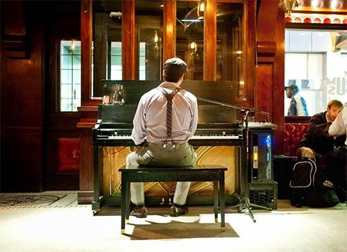 piano at the rum house at hotel edison midtown manhattan new york city ny