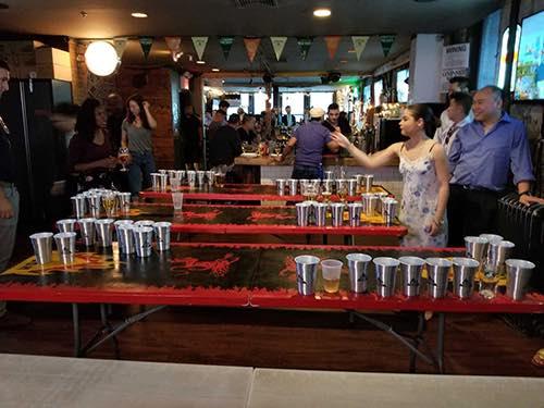 krush koreatown bar beer pong midtown manhattan new york city ny