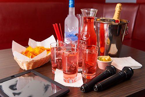 drinks at karaoke duet koreatown midtown manhattan new york city ny