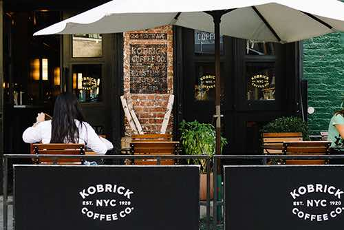 kobrick coffee exterior meatpacking manhattan new york city ny