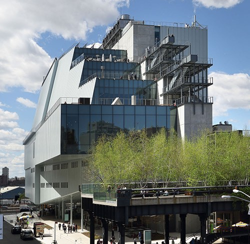 whitney museum meatpacking district manhattan new york city ny