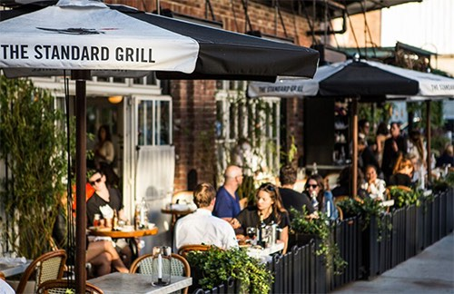 the standard grill meatpacking district new york city ny