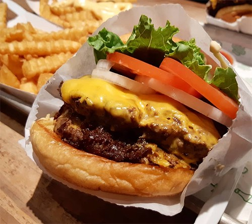 shake shack dumbo burger brooklyn bridge park brooklyn new york city ny