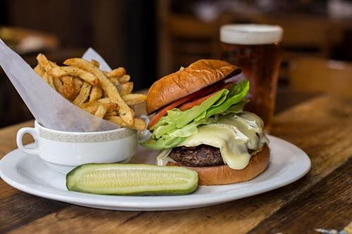 the bluebell cafe burger gramercy manhattan new york city