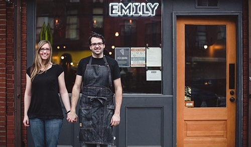 owners at emily burger brooklyn new york city ny