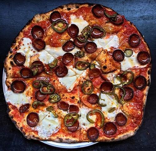pizza at emily brooklyn new york city ny