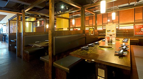 interior at gyu kaku midtown w 44th manhattan new york city ny