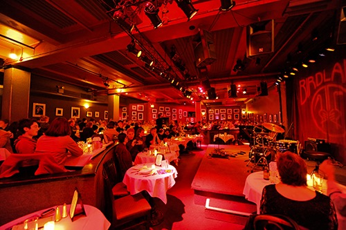 birdland jazz club interior midtown manhattan new york city