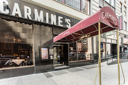 carmines italian times square midtown manhattan new york city ny