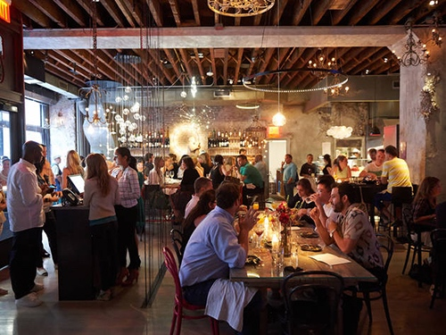 interior at abc cocina bar gramercy park manhattan new york city ny