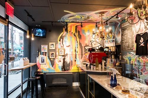 interior at doughnut project 10 Morton street new york, ny west village manhattan new york city ny