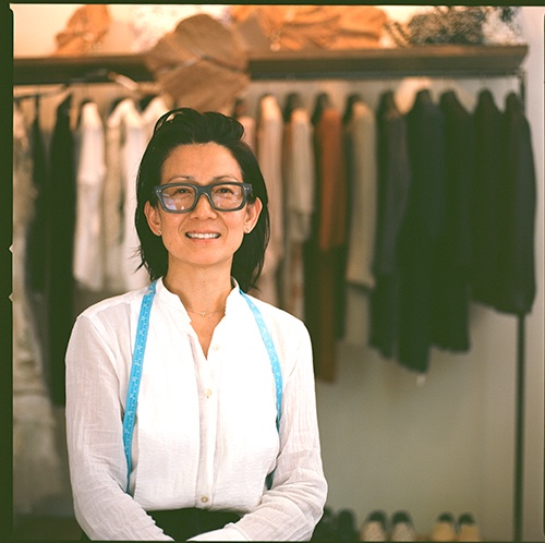 jussara lee in her shop on 60 Bedford St, New York, NY 10014
