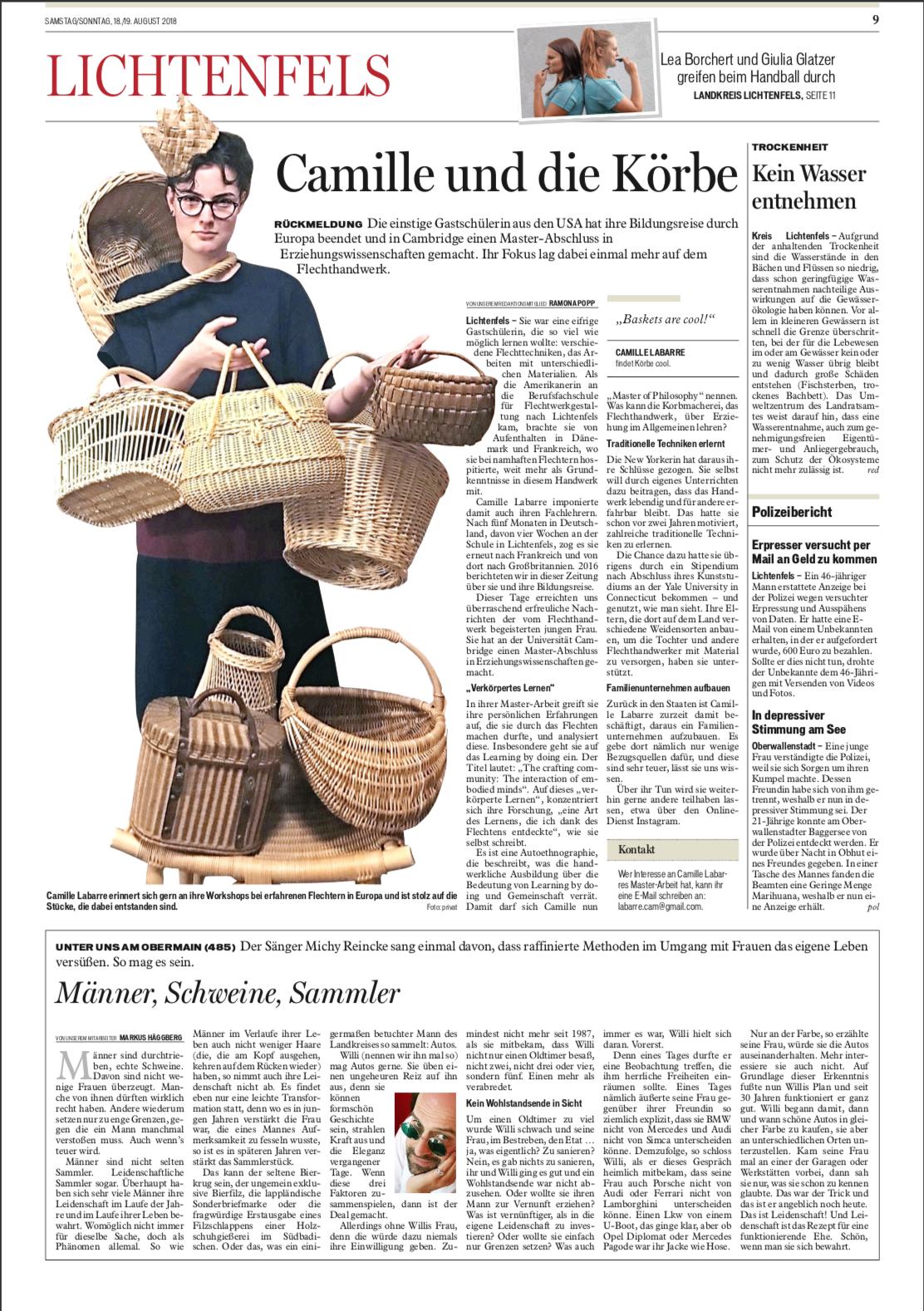 Fränkischer Tag - August 18/19, 2018