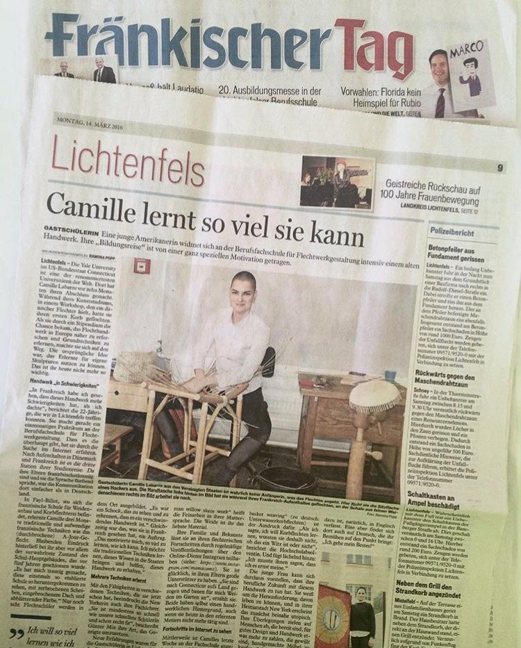 Fränkischer Tag - March 14, 2016