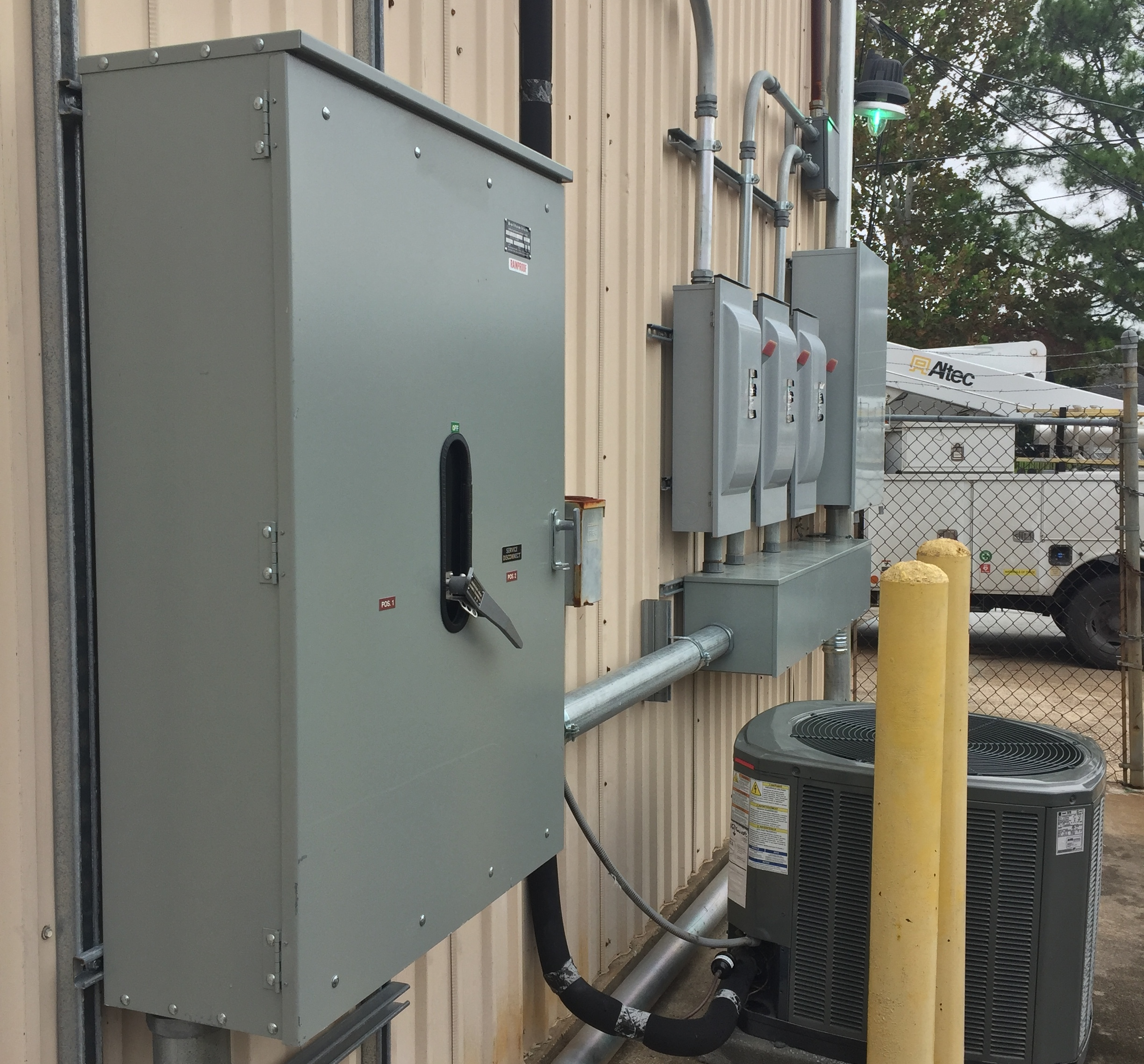 Project: Installation of Transfer Switch