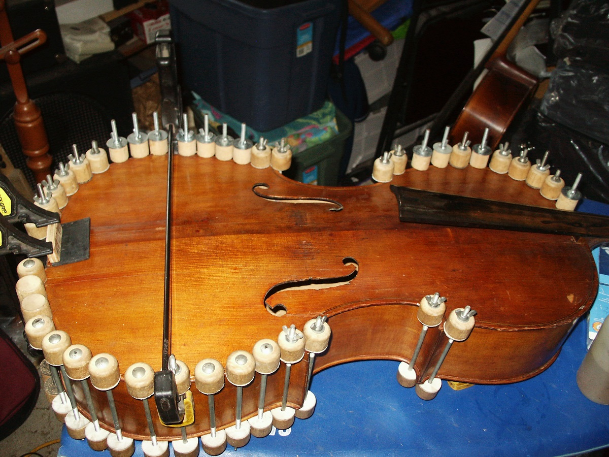 Cello Repair Phase 3