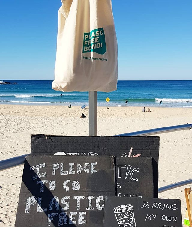 It's the last day of July! Have you made your #plasticfreebondipledge yet? ☝️Make a post, ✌use the hashtag and 👌 tag us in your pledge to keep the good plastic-free habits going for a chance to win some great prizes!