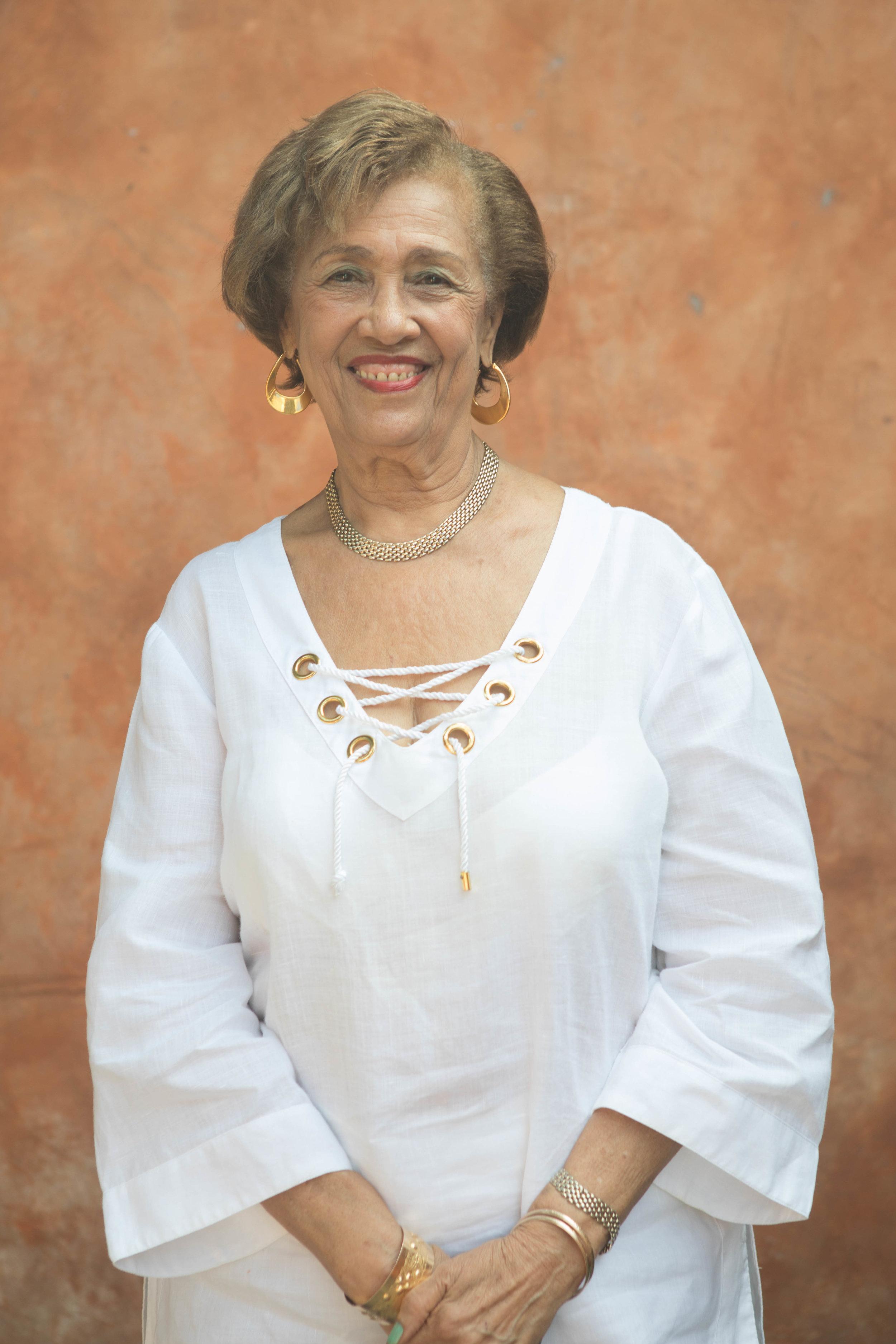 Dr. Marion Pierre, Executive Director of the Queen Elizabeth Home