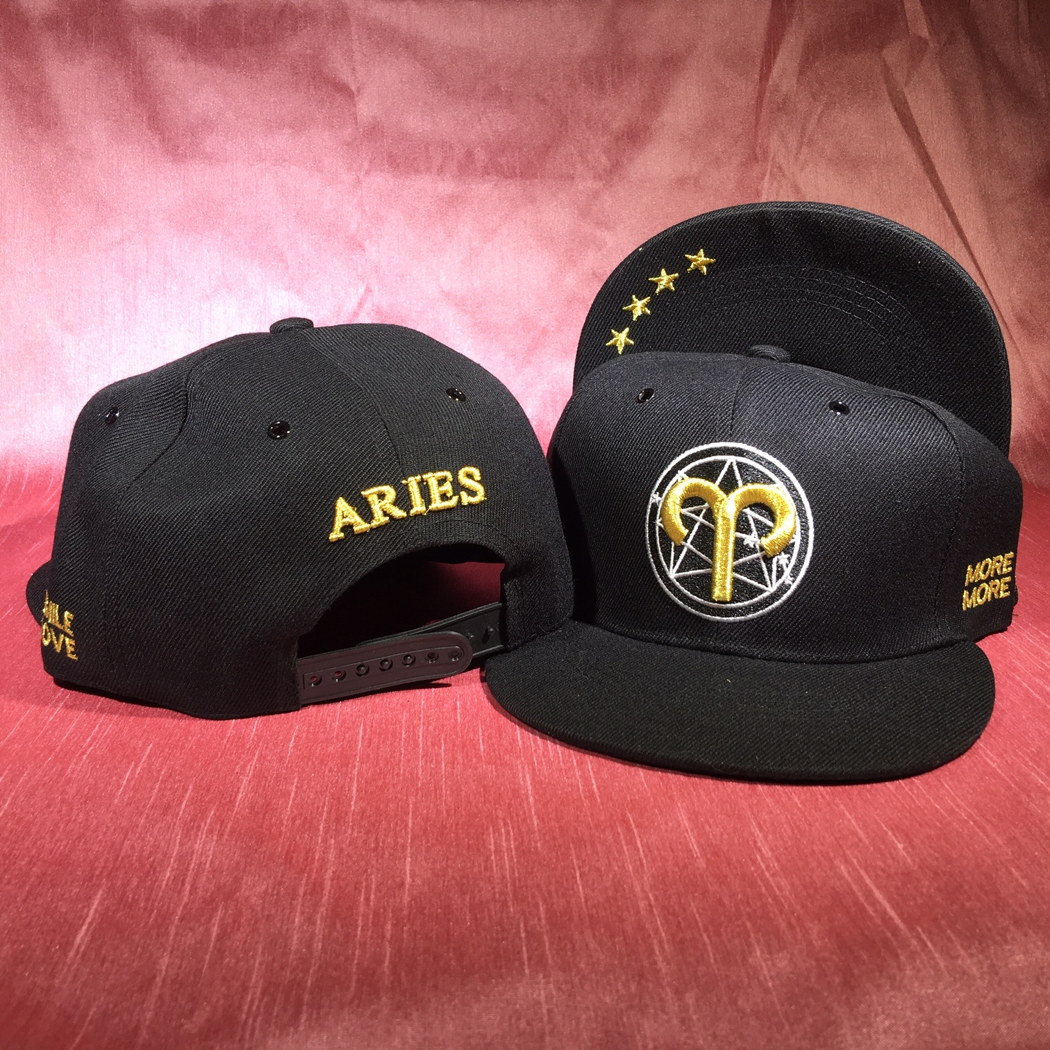 Aries Flat Back Baseball Cap   (March 21 to April 19)