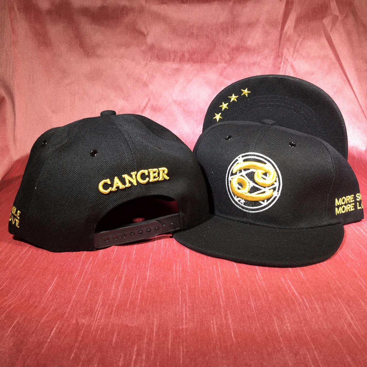 Cancer Flat Back Baseball Cap   (June 21 to July 22)