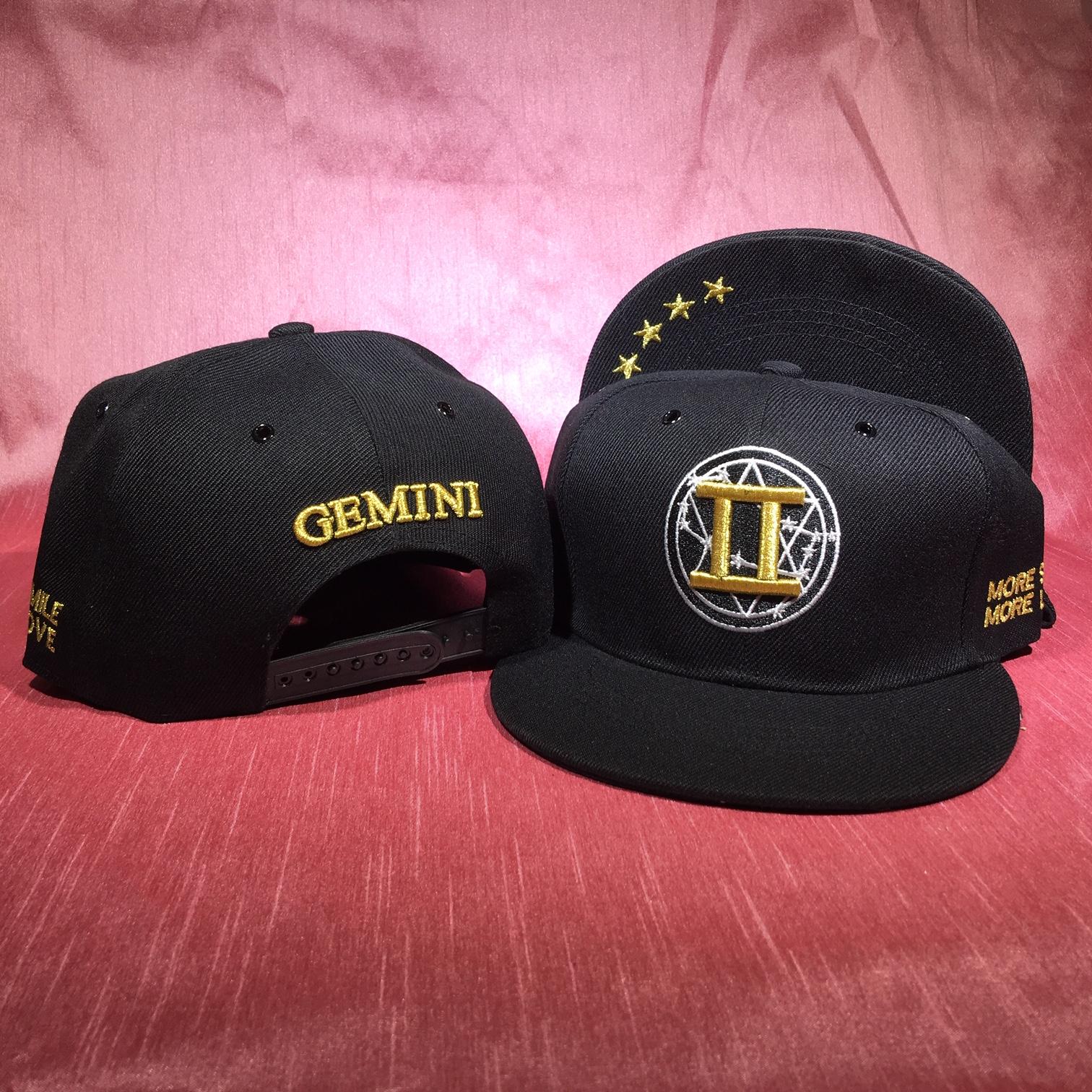 Gemini Flat Back Baseball Cap   (May 21 to June 20)