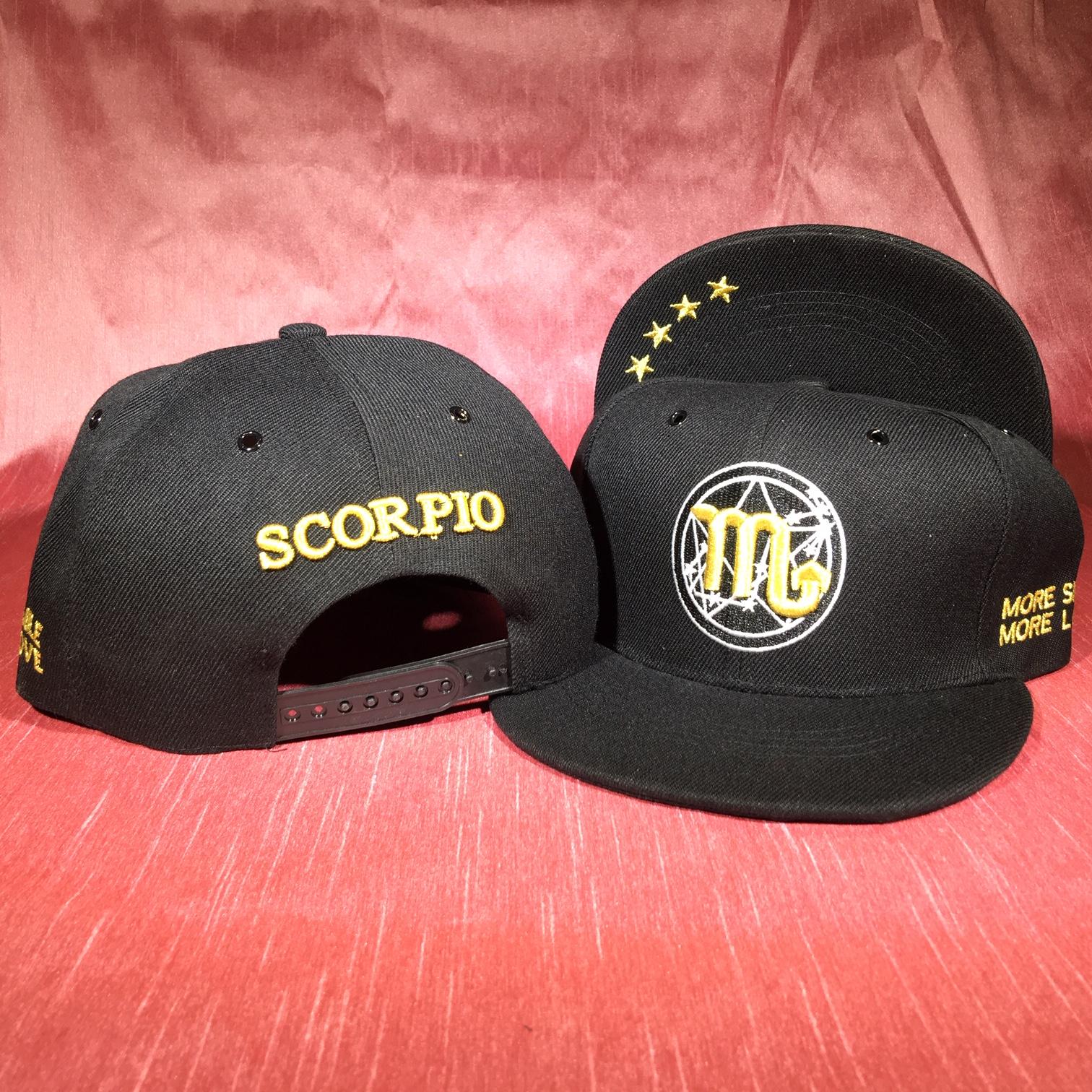 Scorpio Flat Back Baseball Cap   (October 23 to November 21)