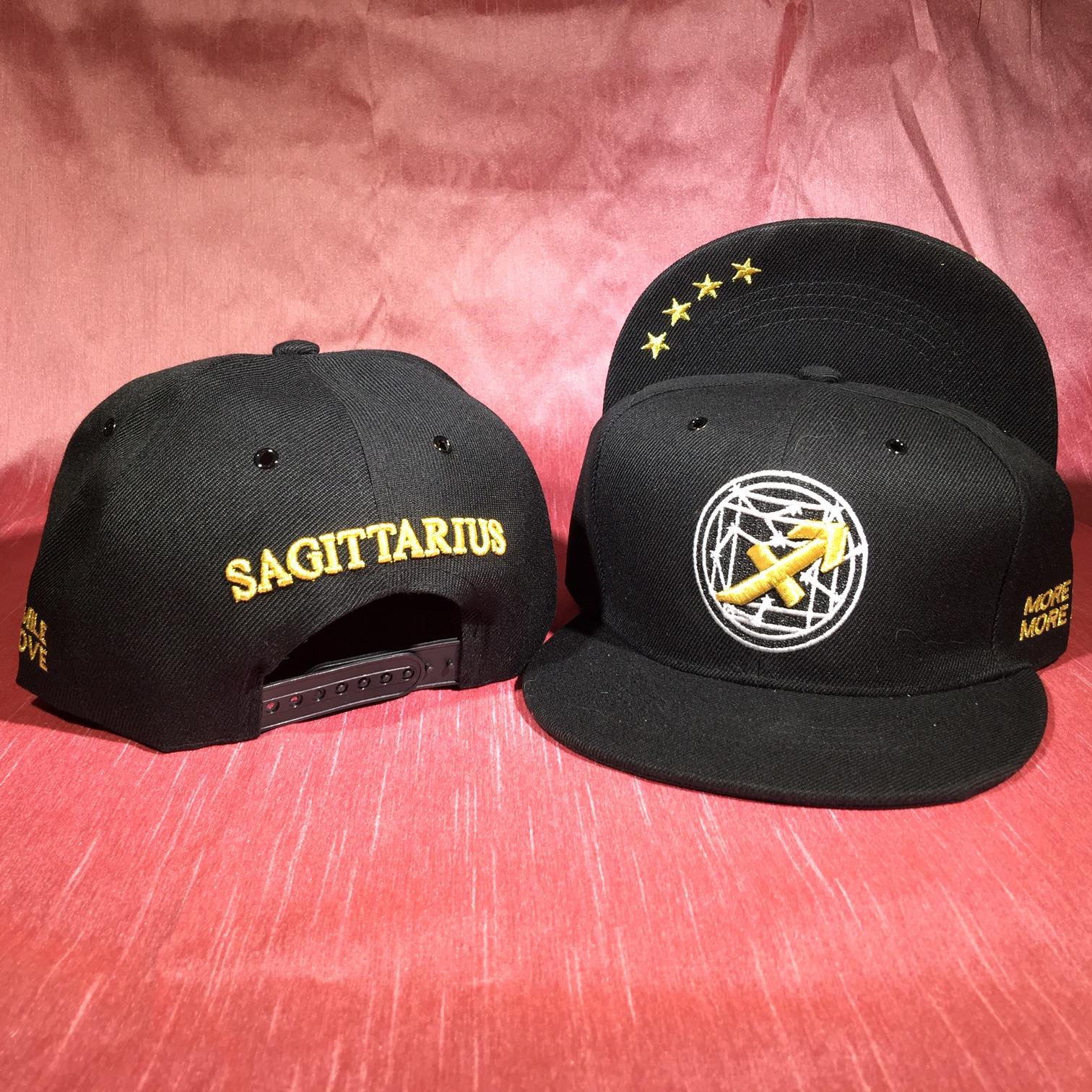 Sagittarius Flat Back Baseball Cap   (November 22 to December 21)