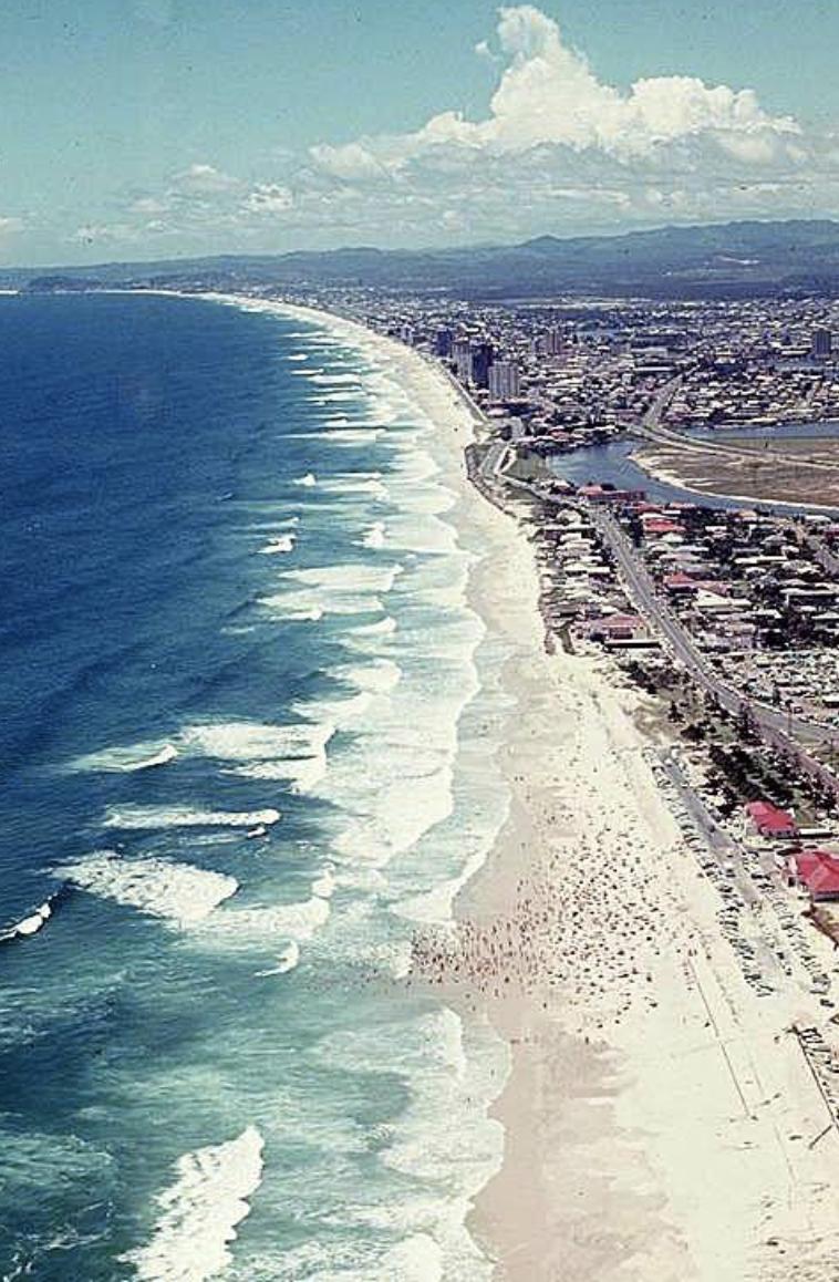 Main Beach, Gold Coast - 1971