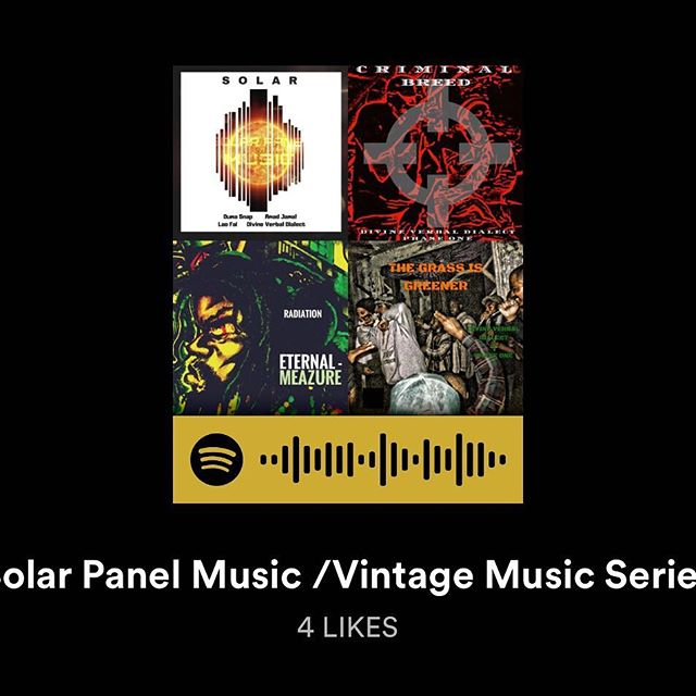 Steam on Spotify! The True Indie Hip-Hop Label. #SolarpanelMusic
