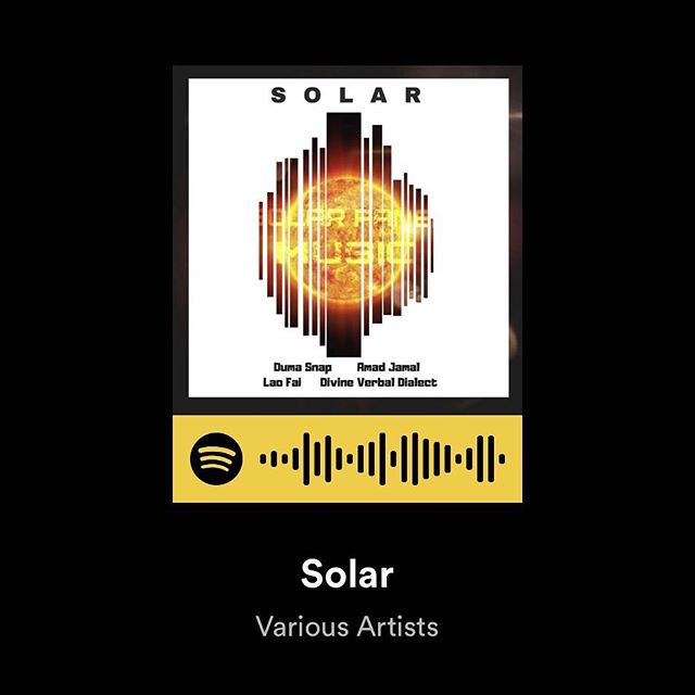 Stream on Spotify Classic Underground Hip-Hop. #SolarPanelMusic #VintageMusicSeries #DumaSnap #DivineVerbalDialect #AmadJamal #LaoFai #Produced by #UsulStrange #NomadicTransit Tecorded in 2002